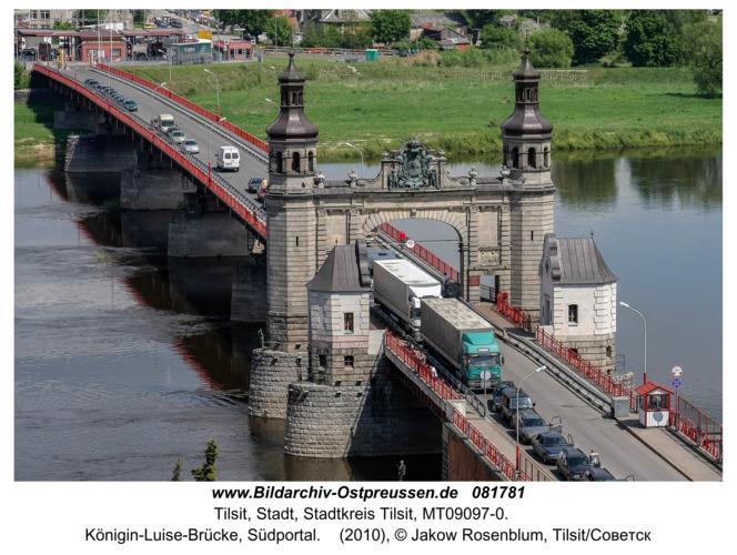 Tilsit (Советск), Königin-Luise-Brücke, Südportal