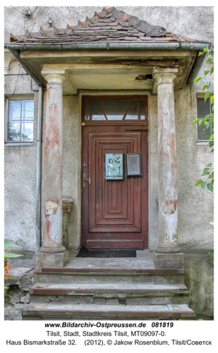 Tilsit (Советск), Haus Bismarkstraße 32