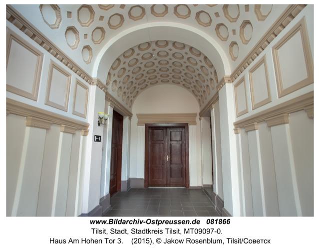 Tilsit (Советск), Haus Am Hohen Tor 3