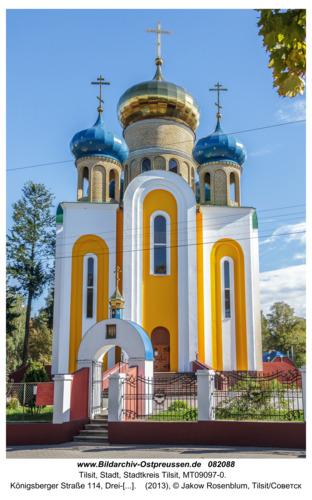 Tilsit (Советск), Königsberger Straße 114, Drei-Weiher-Kathedrale