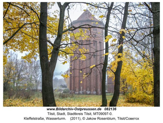 Tilsit (Советск), Kleffelstraße, Wasserturm