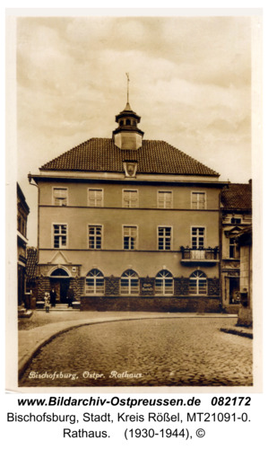 Bischofsburg, Rathaus