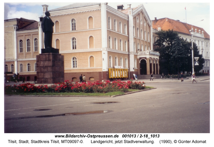 Tilsit, Landgericht, jetzt Stadtverwaltung