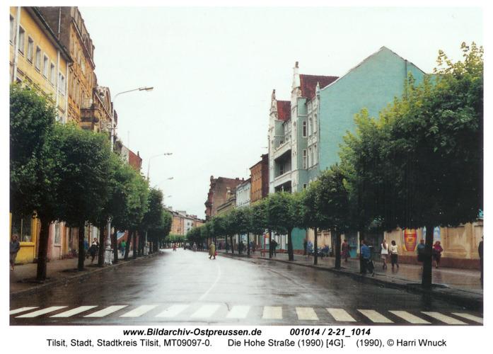 Tilsit, Die Hohe Straße (1990) [4G]