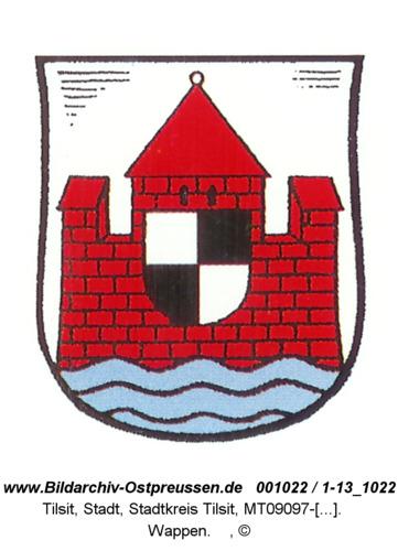 Tilsit, Wappen