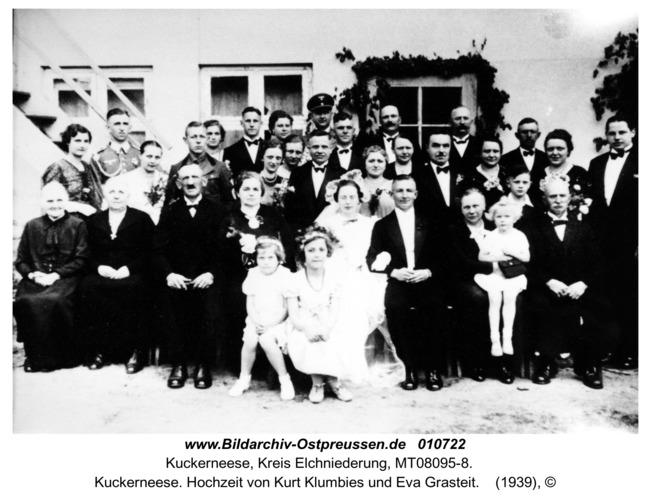 Kuckerneese. Hochzeit von Kurt Klumbies und Eva Grasteit