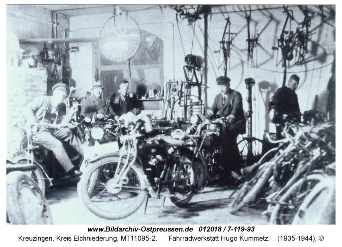 Kreuzingen, Fahrradwerkstatt Hugo Kummetz