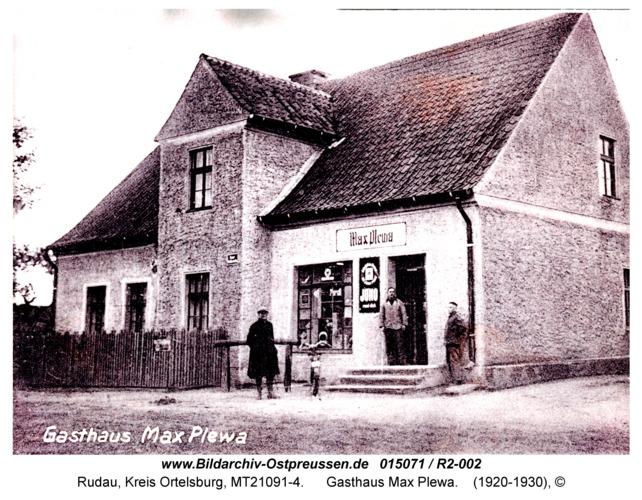 Rudau, Gasthaus Max Plewa