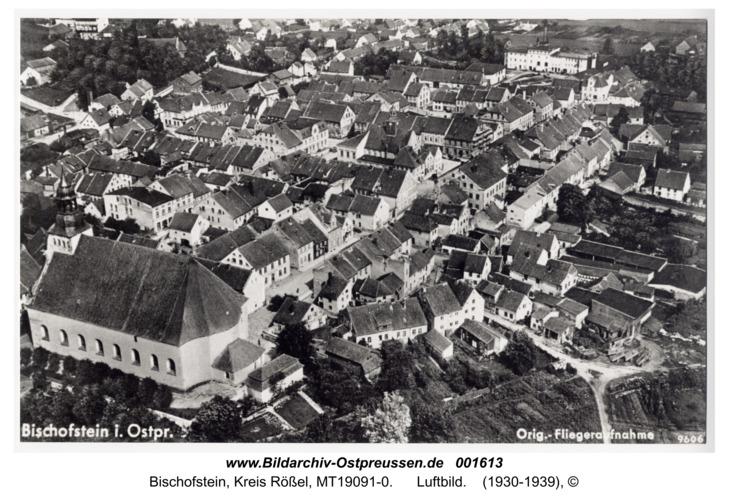 Bischofstein, Luftbild