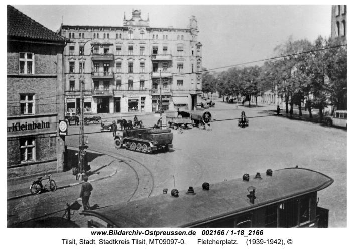 Tilsit, Fletcherplatz