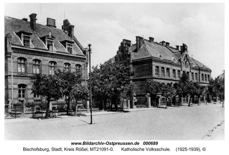 Bischofsburg, katholische Volksschule