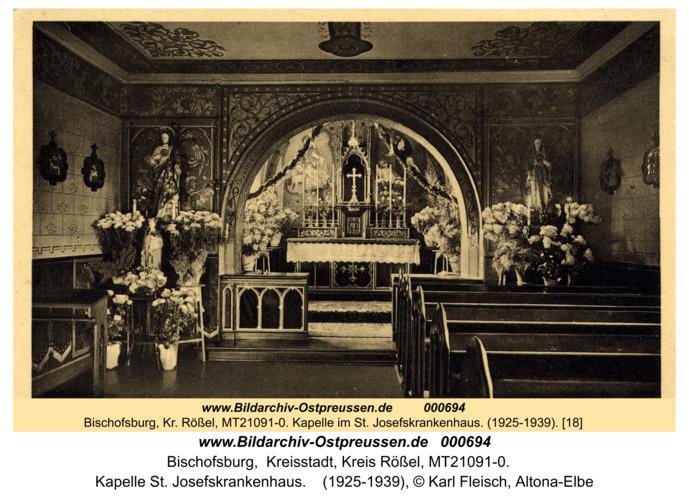 Bischofsburg, Kapelle St. Josefskrankenhaus