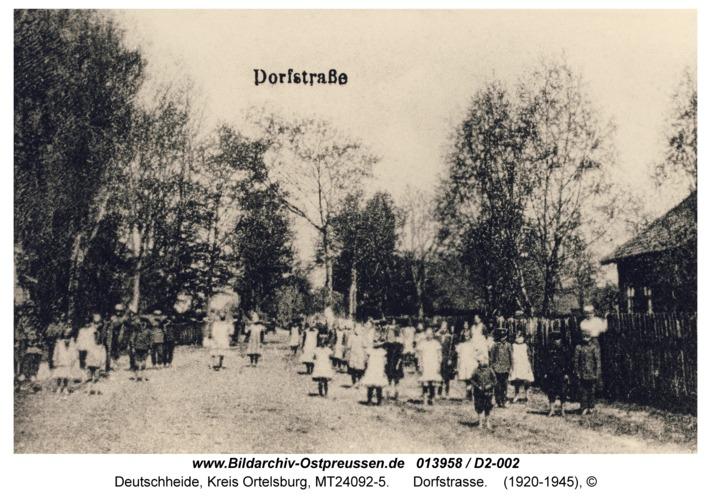 Deutscheide, Dorfstraße