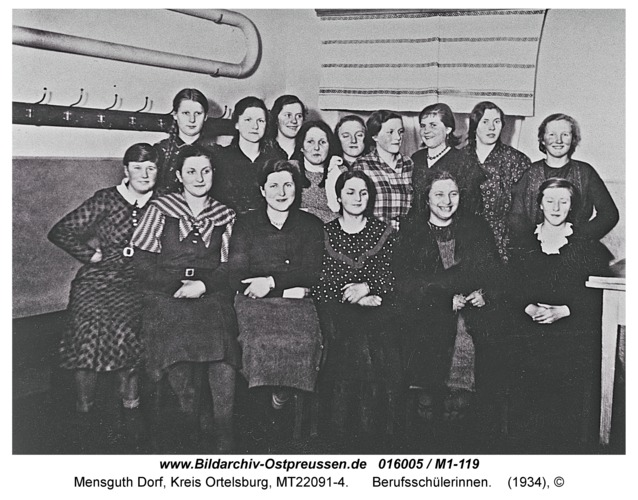 Mensguth, Berufsschülerinnen