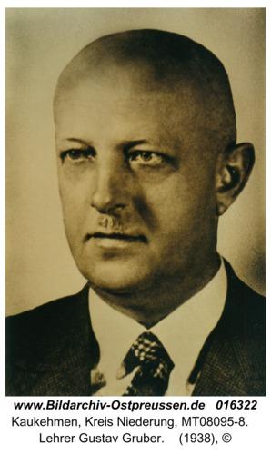 Kuckerneese, Lehrer Gustav Gruber