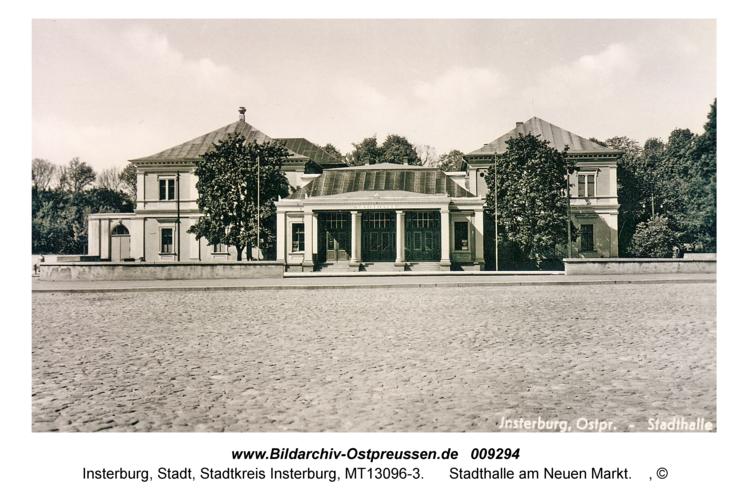 Insterburg, Stadthalle am Neuen Markt