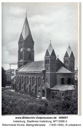 Insterburg, Reformierte Kirche, Markgrafenplatz