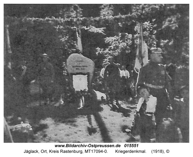 Jäglack, Kriegerdenkmal