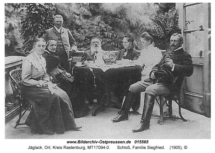 Jäglack, Schloß, Familie Siegfried