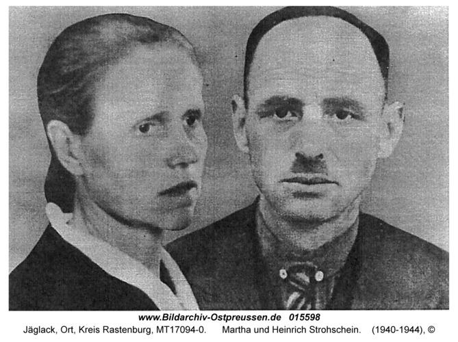 Jäglack, Martha und Heinrich Strohschein