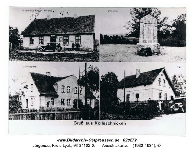 Jürgenau, Ansichtskarte