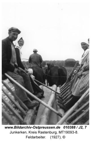 Junkerken, Feldarbeiter