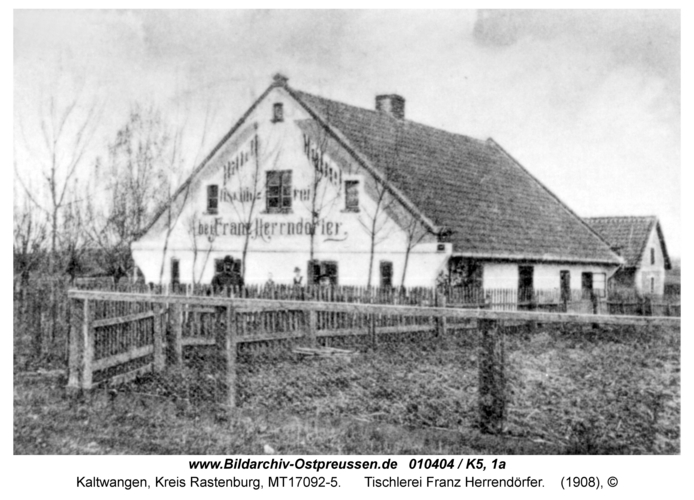 Kaltwangen, Tischlerei Franz Herrendörfer
