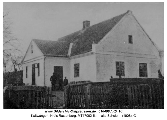 Kaltwangen, alte Schule