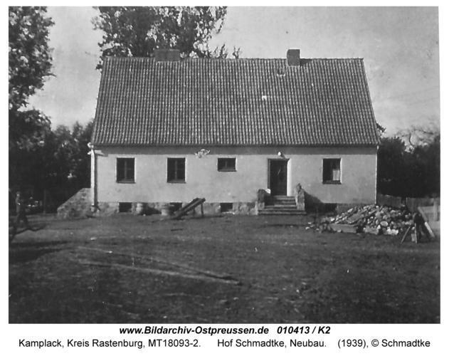 Kamplack, Hof Schmadtke, Neubau