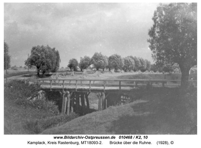 Kamplack, Brücke über die Ruhne
