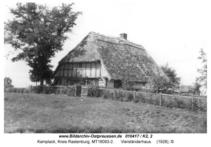 Kamplack, Vierständerhaus