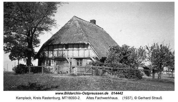 Kamplack, Altes Fachwerkhaus
