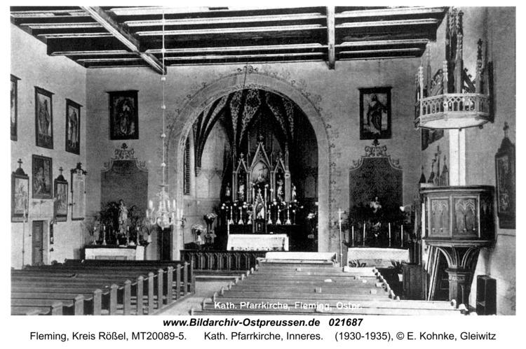 Fleming, Kath. Pfarrkirche, Inneres