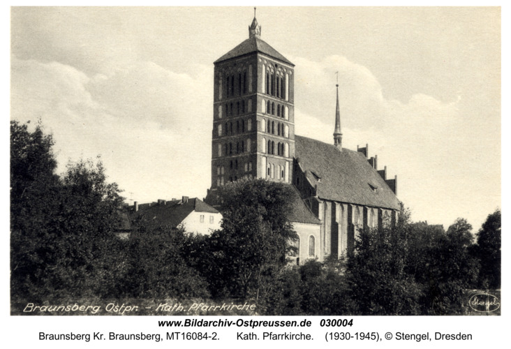 Braunsberg, Kath. Pfarrkirche