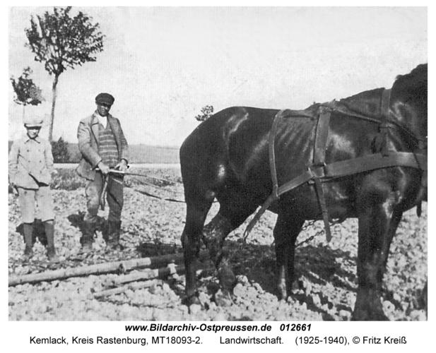 Kemlack, Landwirtschaft