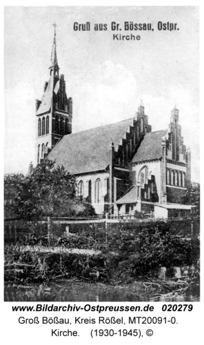 Groß Bössau, Kirche