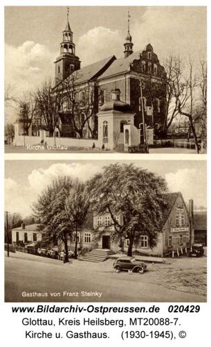 Glottau, Kirche u. Gasthaus