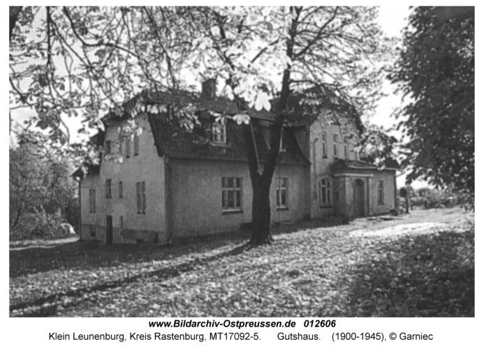 Klein Leunenburg, Gutshaus