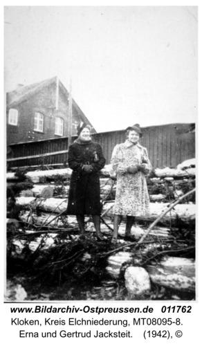 Kloken, Erna und Gertrud Jacksteit