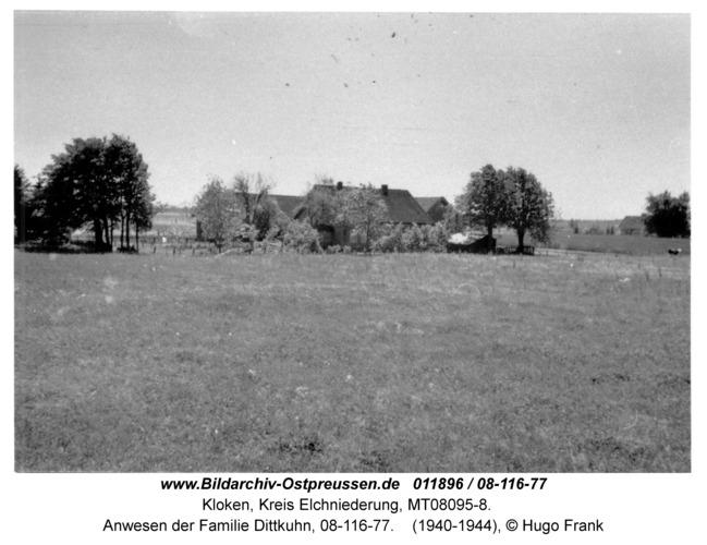 Kloken, Anwesen der Familie Dittkuhn, 08-116-77