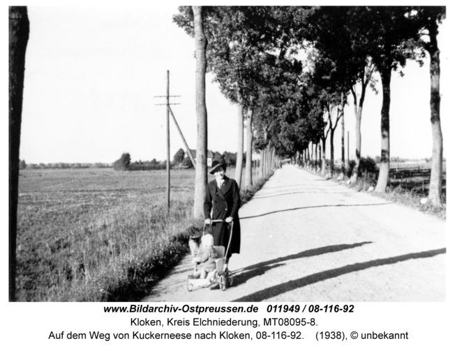 Kloken, Auf dem Weg von Kuckerneese nach Kloken, 08-116-92