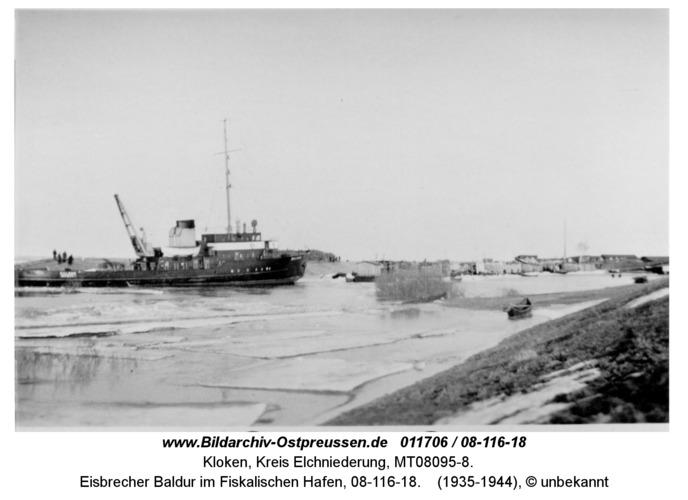 Kloken, Eisbrecher Baldur im Fiskalischen Hafen, 08-116-18