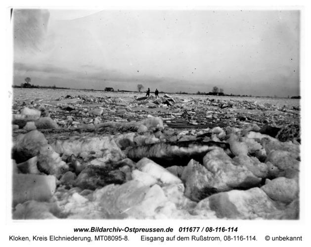 Kloken, Eisgang auf dem Rußstrom, 08-116-114