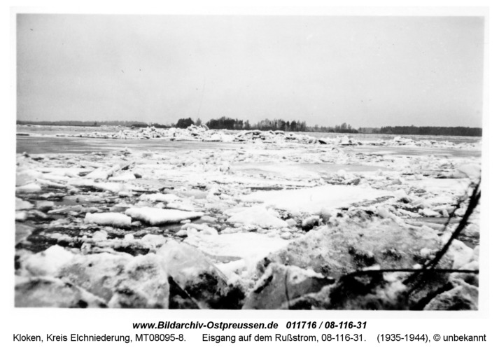 Kloken, Eisgang auf dem Rußstrom, 08-116-31