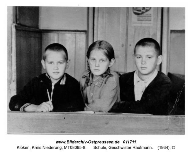 Kloken, Schule, Geschwister Raufmann