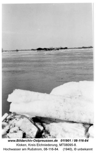 Kloken, Hochwasser am Rußstrom, 08-116-84