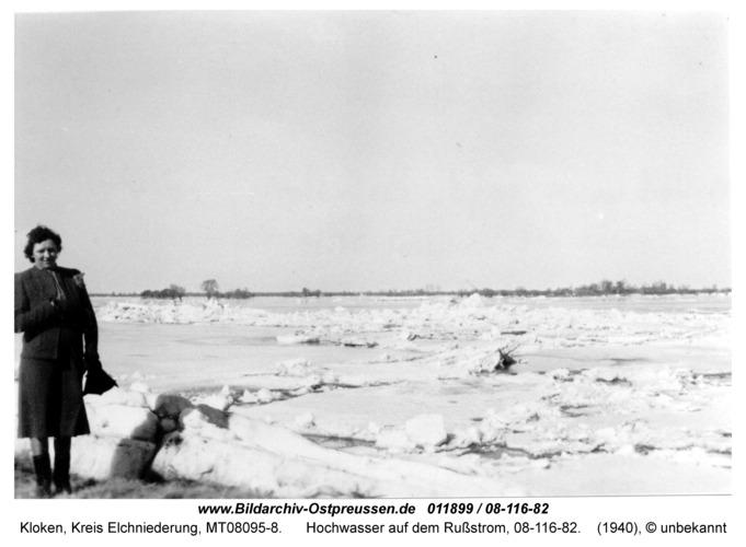 Kloken, Hochwasser auf dem Rußstrom, 08-116-82