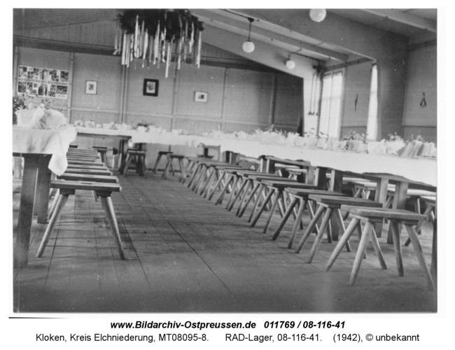 Kloken, RAD-Lager, 08-116-41