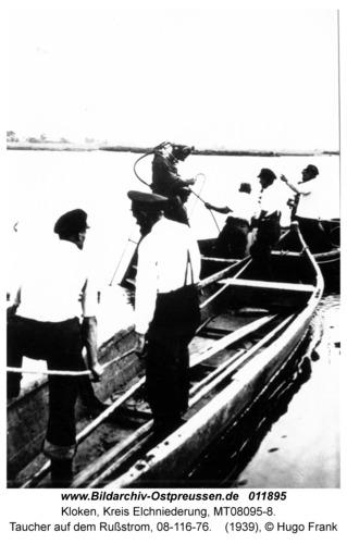 Kloken, Taucher auf dem Rußstrom, 08-116-76