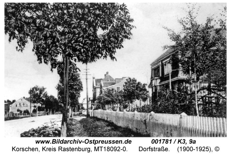 Korschen, Dorfstraße